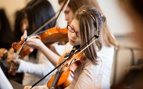 Government pledges £80m for music lessons to ensure 'all children' know their notation