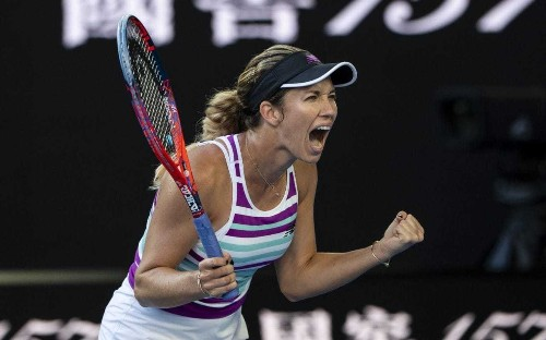 Who is Danielle Collins, the fearless American through to Australian Open semi-finals?