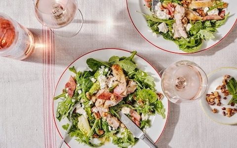 How to be creative with big summer salads