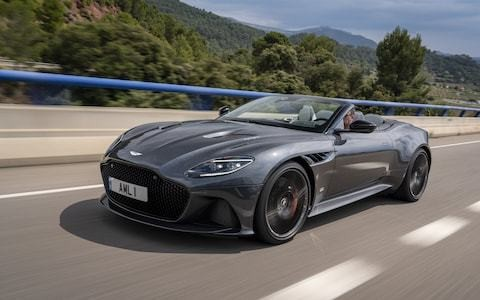 211mph with the top down: what it's like to drive the Aston Martin DBS Superleggera Volante