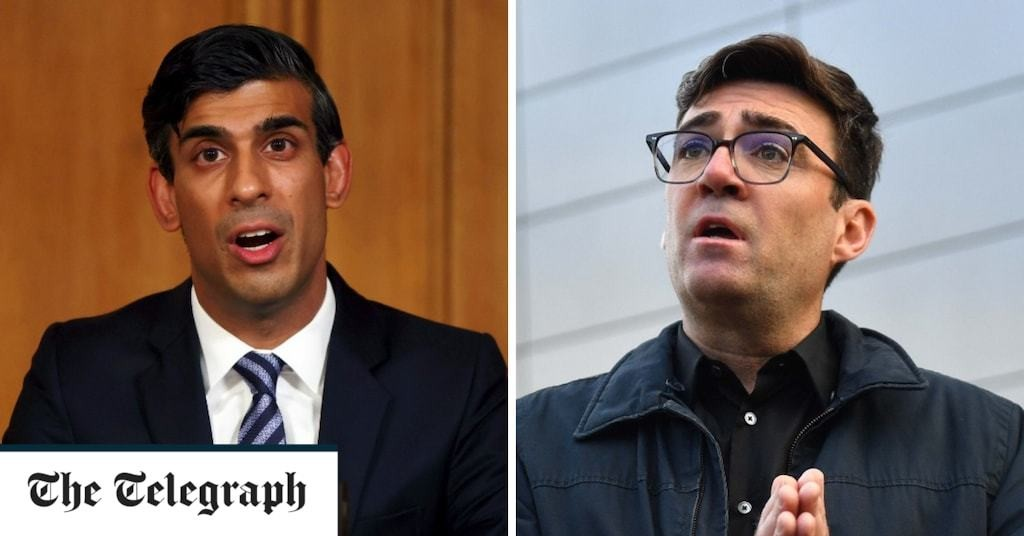 Rishi Sunak reveals tier two rescue package just days after Manchester talks collapse over £5m