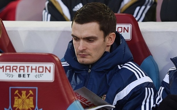 Adam Johnson has his name sung by Sunderland fans