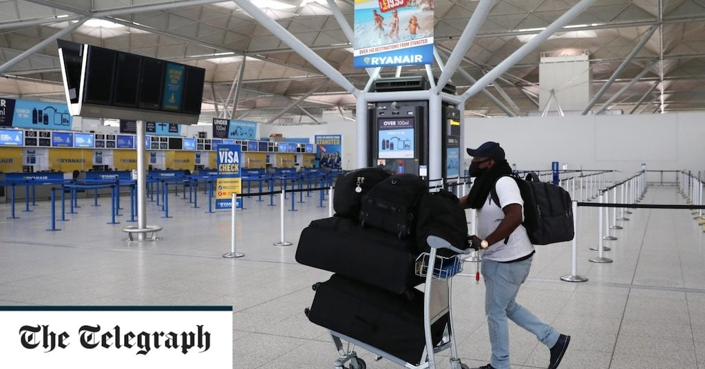 Airports losing £83m a week, operators warn