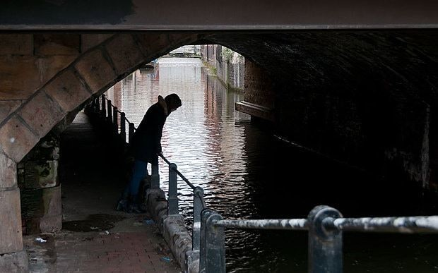 Who is stalking the canals and streets of Manchester?