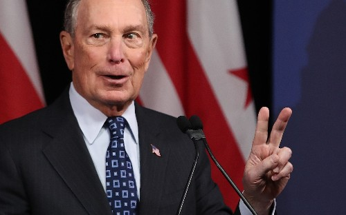 Bloomberg throws out Obama mantra in favour of gutter fight with Trump
