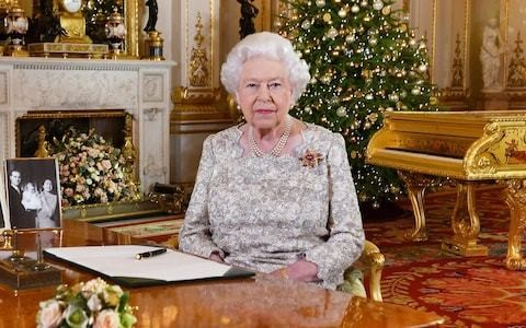 From now on, I'm doing Christmas with the same cool efficiency as the Queen
