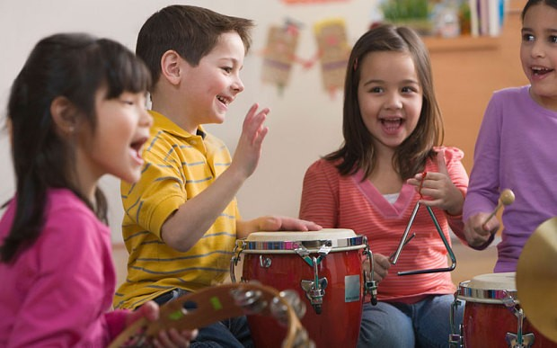 Teach youngsters music and they will soar