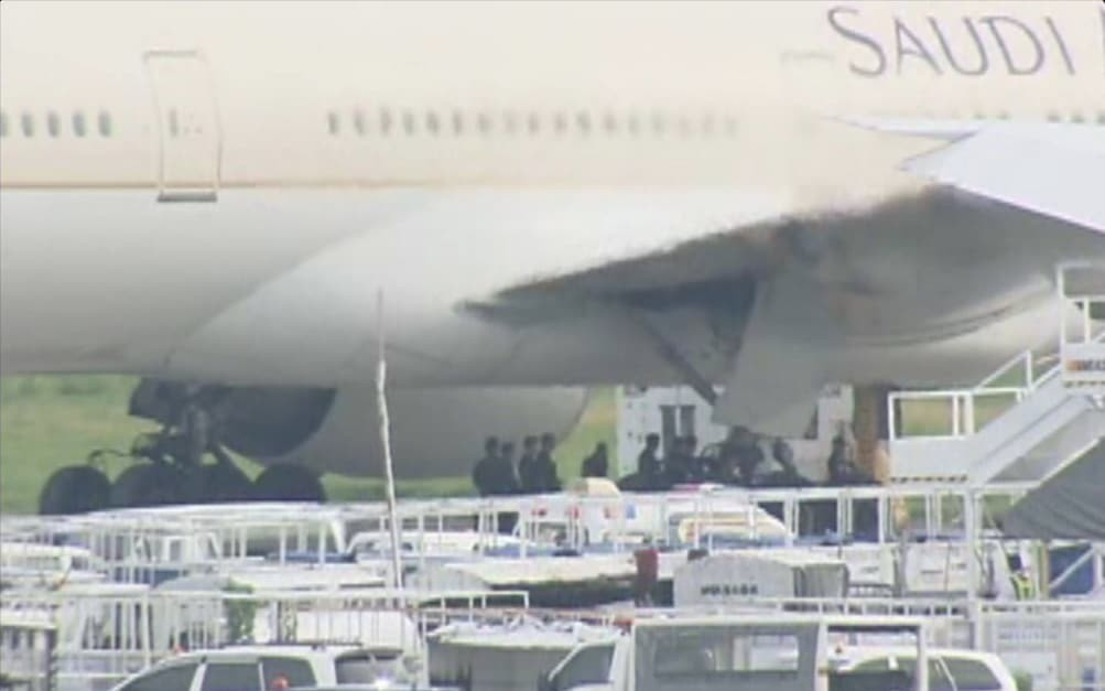 Saudi Airlines jet 'under threat' at Manila airport was a false alarm