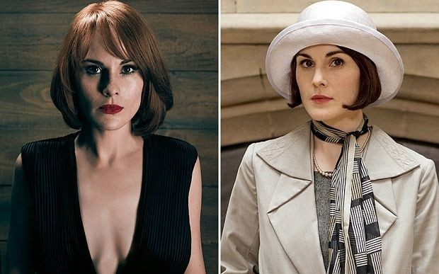 Michelle Dockery sheds the Lady Mary look and reveals her inner bad girl