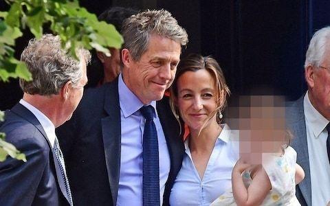 Hugh Grant finally ties knot at 57 as he marries Swedish girlfriend Anna Eberstein