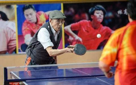93-year-old wins two world ping-pong tournaments, ready for the third