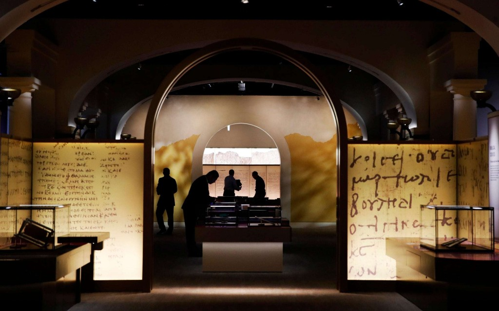 Museum of the Bible attempts to convert critics after forgeries blunder