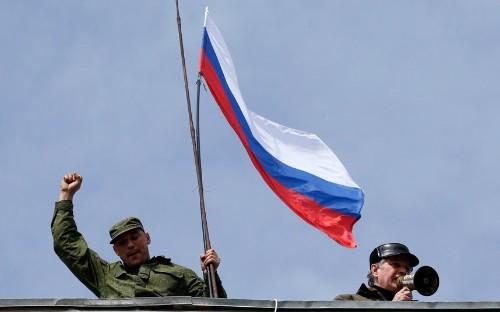 Ukraine crisis in pictures: Pro-Russian forces take control in Crimea - Telegraph