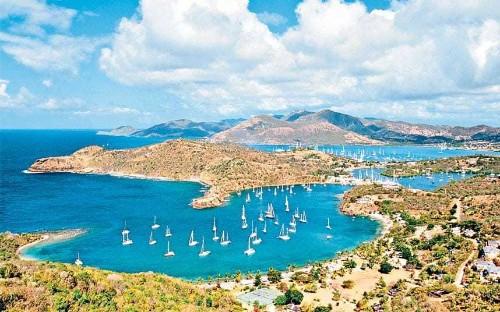 Caribbean island-hopping: Antigua, St Kitts and Tobago