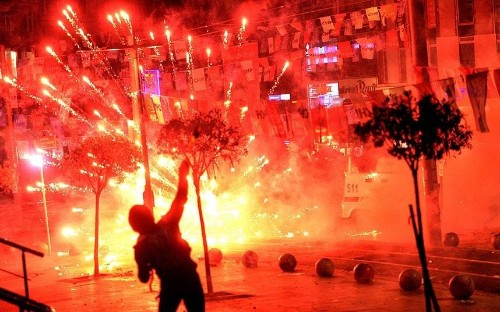 In pictures: Teenager's death sparks riots in Turkish cities