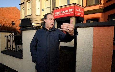 Nigel Dodds suggests Brexit rift with Tories could be healed as DUP battles 'Remain pact' in Belfast