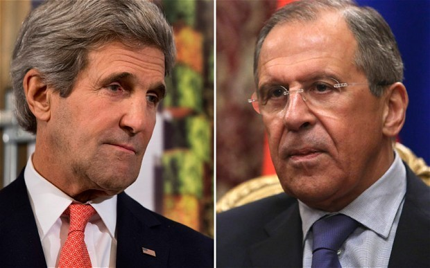 Ukraine crisis talks launched in Kerry meeting with Lavrov