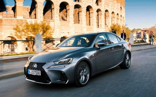 Lexus IS driven – a comfortable mainstay of the compact exec class