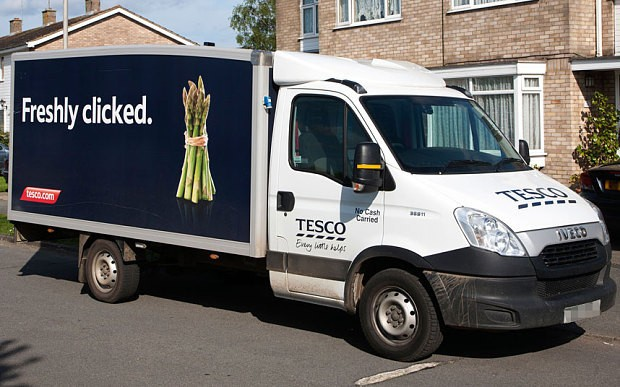 Tesco delivery driver sent lewd texts to woman after dropping off shopping
