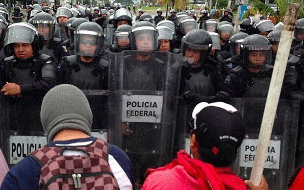 Fury over Mexico student 'massacre' boils over into street battles