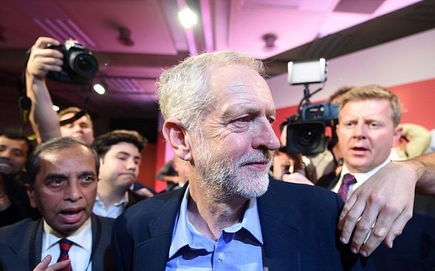 Jeremy Corbyn becomes first Labour leader ever to score negative debut poll rating