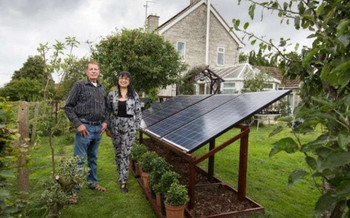 'My home-made battery pack means I heat and light my home for nothing'