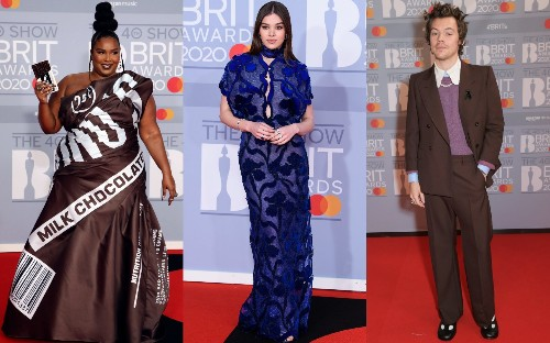 The best-dressed stars on the Brit Awards red carpet, from Lizzo to Harry Styles