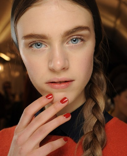 Beauty how to: Valentino's glossy red nails