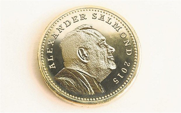 Alex Salmond to replace the Queen on new Scottish pound coin