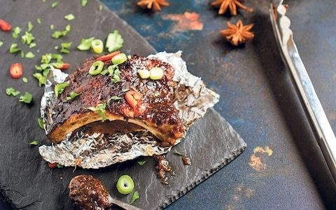 Slow cooker hoisin spare ribs recipe