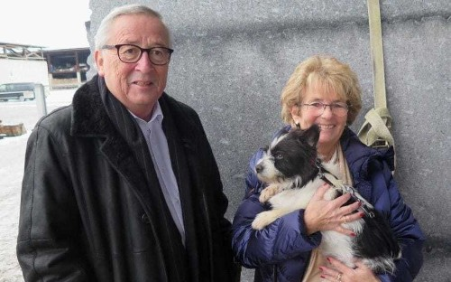 Taxpayer paid for Jean-Claude Juncker's 125 mile trek to adopt stray dog