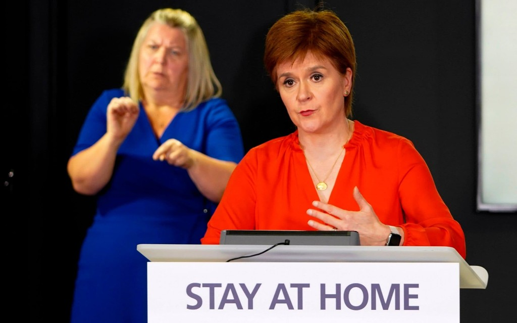 Nicola Sturgeon should not expect police to get her out of jail over lockdown rebellion