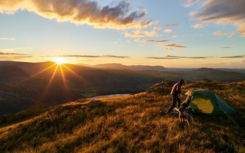 Wild camping to be legalised across parts of England and Wales in new scheme