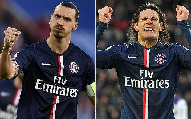 Chelsea vs PSG: Zlatan v Cavani, the power struggle at Paris St-Germain