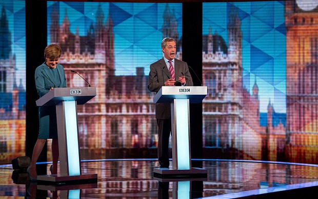 Nigel Farage is not interested in pleasing a BBC audience