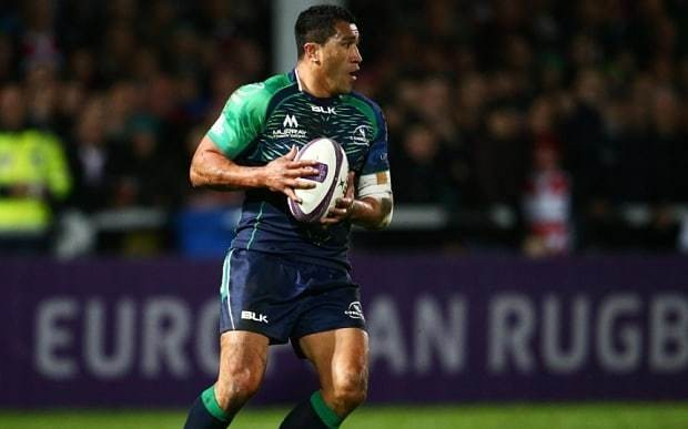 Mils Muliaina allegedly arrested on suspicion of sexual assault after Connacht's defeat to Gloucester