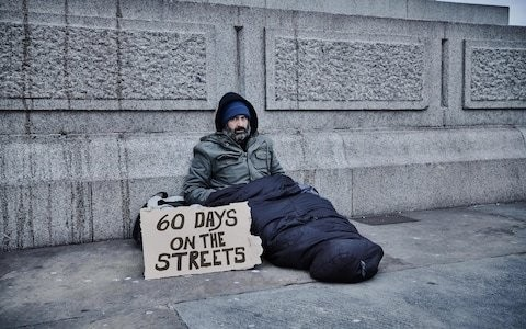 Explorer who spent 60 days living on the streets for Channel 4 documentary says some beggars made £200 a night