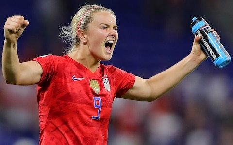 'I didn't mean to cause any offence' – Lindsey Horan apologises to Steph Houghton after 'over-celebrating'