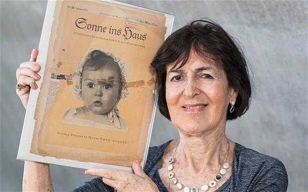 Nazi 'perfect Aryan' poster child was Jewish