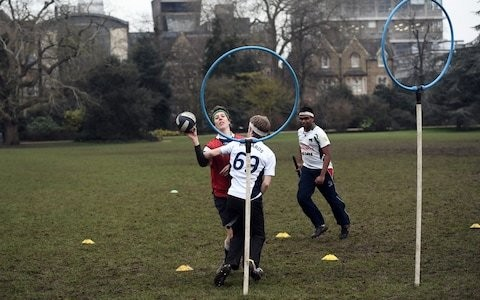 Students bring Hogwarts to Oxford for Varsity Quidditch fixture