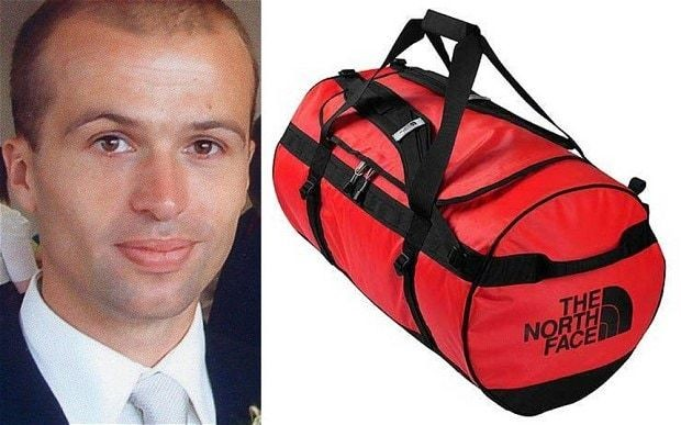 Spy in a bag: family reject police conclusion death was 'tragic accident'