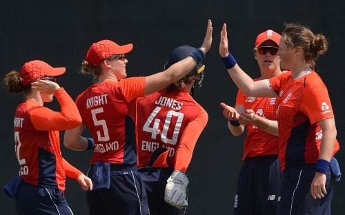 England Women complete eight-wicket thrashing of Sri Lanka in opening T20 match