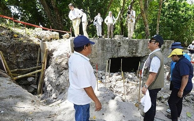 Japan searches for Second World War soldiers' remains in sealed caves of Palau