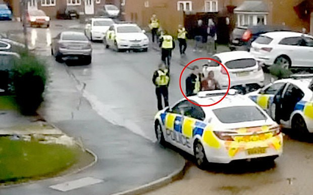 Police Taser woman who 'threatened neighbours'