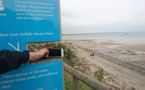 National Trust asks beach-goers to post pictures on Instagram to help monitor coastal erosion