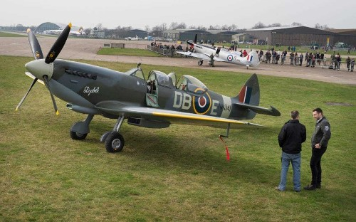 Newly restored Spitfire to pay tribute to the men who risked all to protect Britain