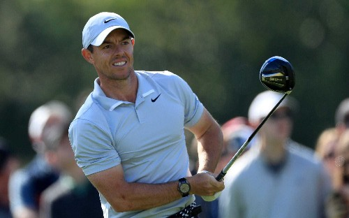 Rory McIlroy eases into leading position at the Genesis Invitational