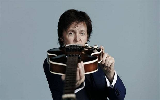 Paul McCartney posts 'New' single online