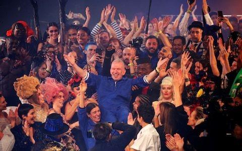 Jean-Paul Gaultier's final fashion show is star-studded affair
