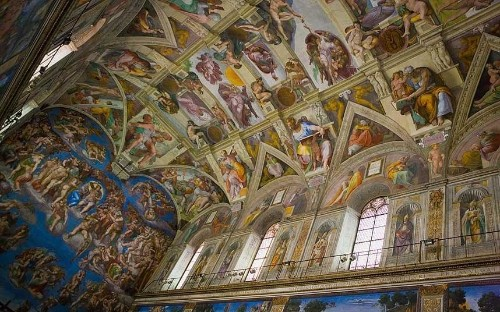 Rome's Sistine Chapel: 50 fascinating facts